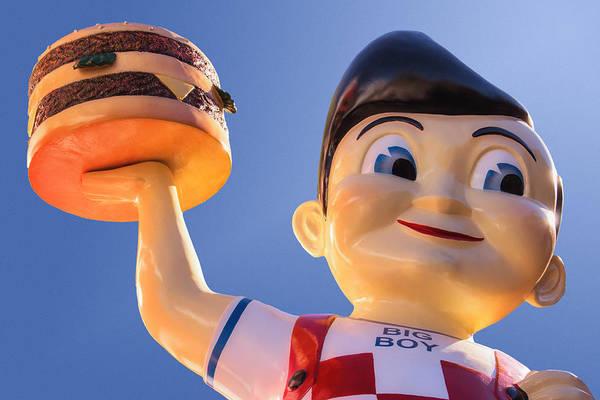Burger Bob Art Print
