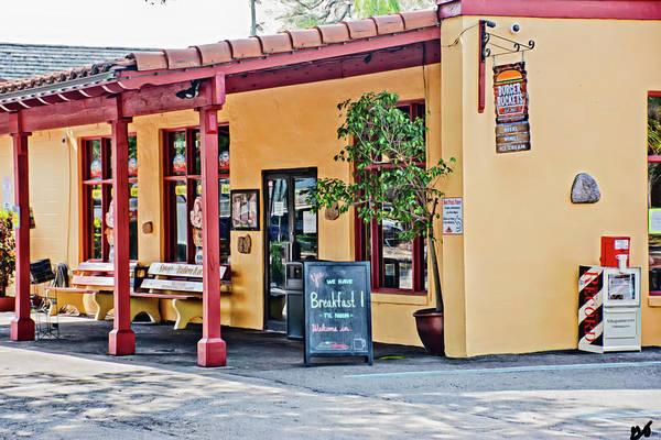 Photograph - Burger Buckets Downtown Saint Augustine Florida by Gina O'Brien