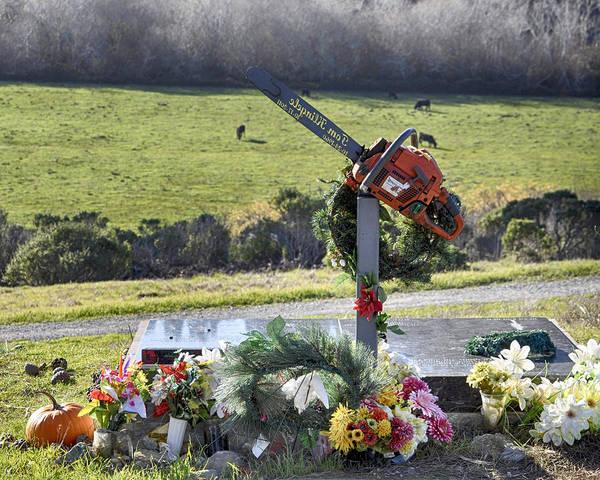 Photograph - Burial Of A Mountain Man by AJ Schibig