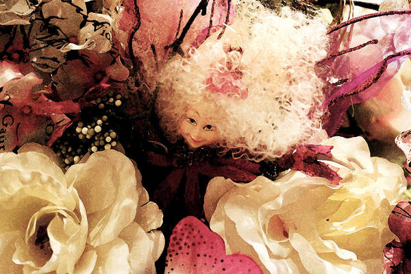 Photograph - Buried In Flowers by Susan Vineyard