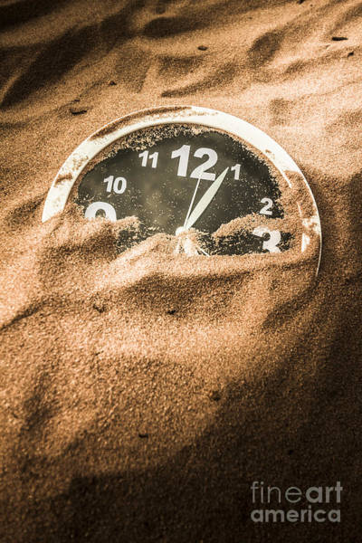 Deadline Wall Art - Photograph - Buried In The Sands Of Time by Jorgo Photography - Wall Art Gallery