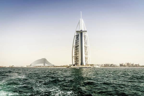 Wall Art - Photograph - Burj Al Arab And Jumeirah Beach Hotels by Alexey Stiop