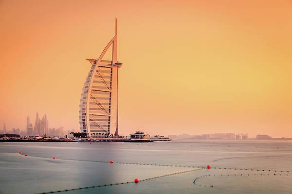 Wall Art - Photograph - Burj Al Arab Hotel by Alexey Stiop