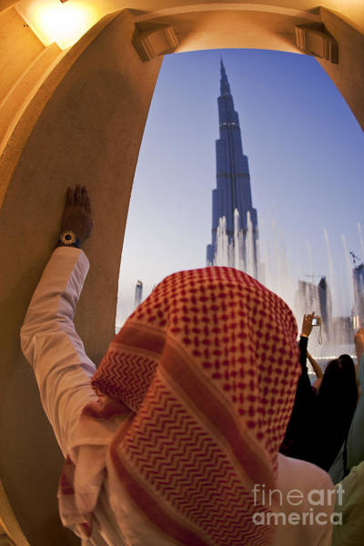 Photograph - Burj Khalifa by Juergen Held