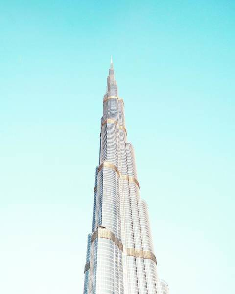 Office Building Photograph - Burj Khalifa by Happy Home Artistry
