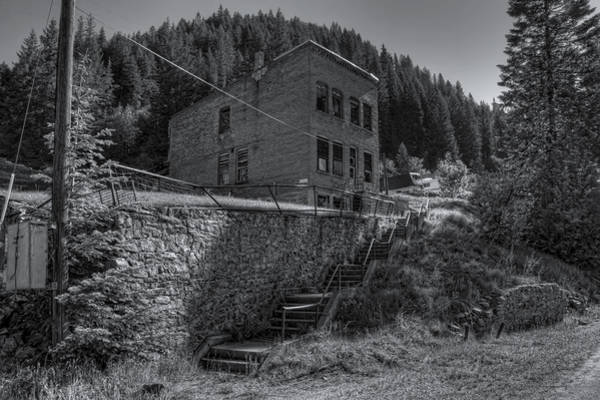 Lead Mine Wall Art - Photograph - Burke Idaho Mining Ghost Town by Daniel Hagerman