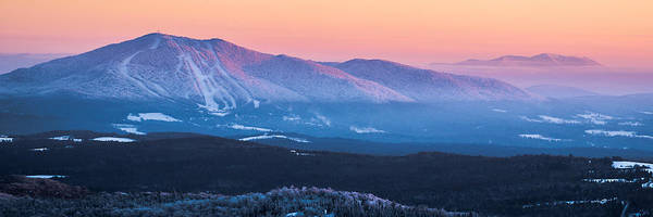 Alpenglow Photograph - Burke To Moosilauke by Tim Kirchoff