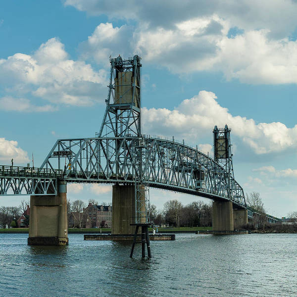 Photograph - Burlington Bristol Bridge by Louis Dallara