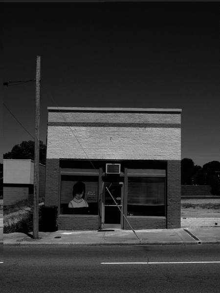 Photograph - Burlington, Nc - Small Town Business Bw 2009 by Frank Romeo