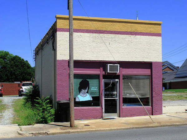 Photograph - Burlington North Carolina - Small Town Business by Frank Romeo