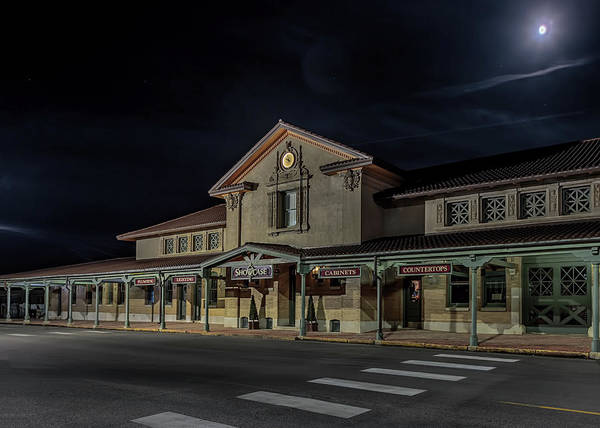 Photograph - Burlington Train Depot by Susan Rissi Tregoning