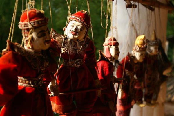 Wall Art - Photograph - Burmese Puppets by Jessica Rose