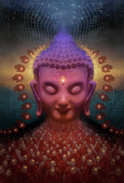 Wall Art - Digital Art - Burmese Step by George Atherton
