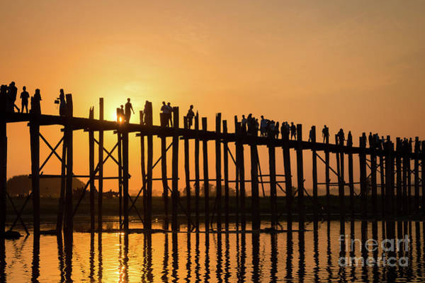 Lake Louise Wall Art - Photograph - Burmese Sunset by Louise Poggianti