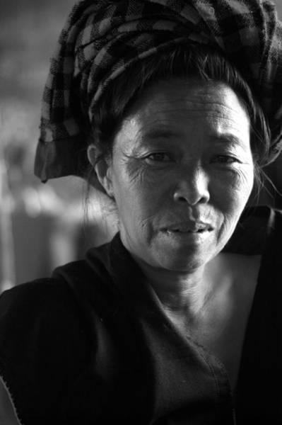 Wall Art - Photograph - Burmese Woman by Jessica Rose