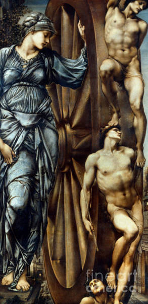 Aod Painting - Burne-jones: Fortune by Granger