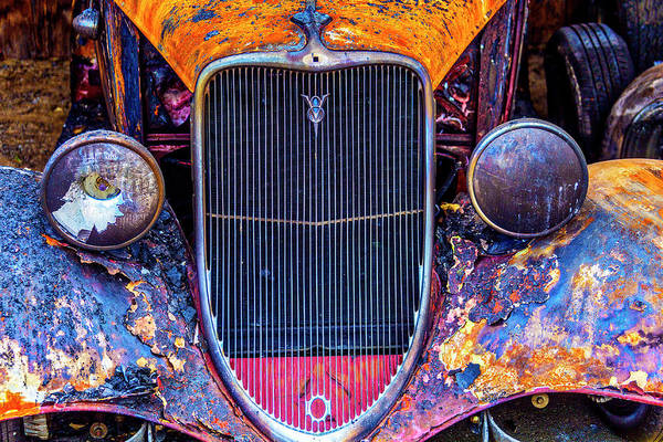 Wall Art - Photograph - Burned Out Car by Garry Gay
