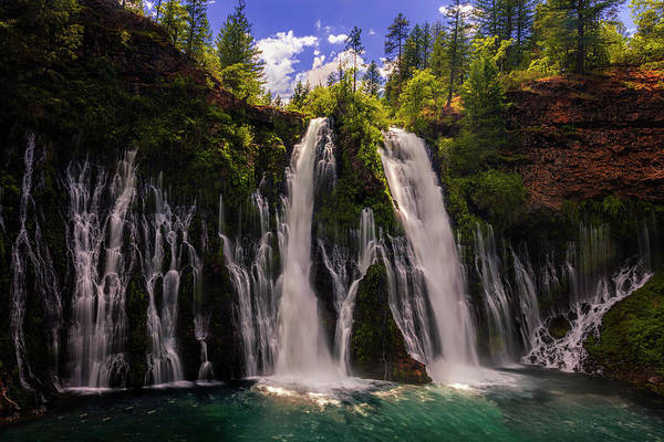 Wall Art - Photograph - Burney Falls by Andrew Soundarajan