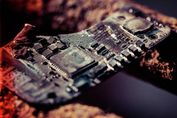 Wall Art - Photograph - Burning Circuitry by Joshua Ball