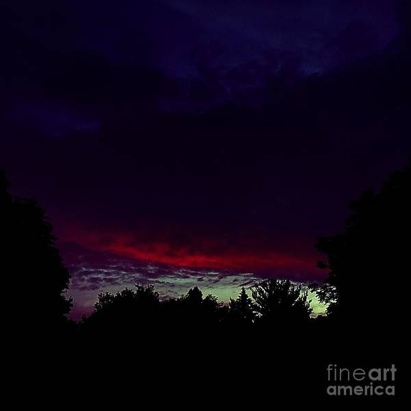 Photograph - Burning Cloud by Frank J Casella