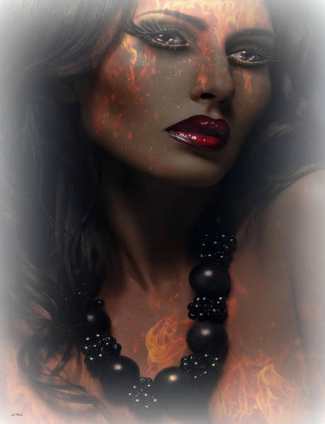 Desire Mixed Media - Burning Desire by G Berry