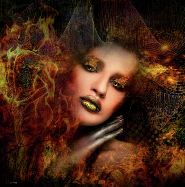 Desire Mixed Media - Burning Desires by G Berry