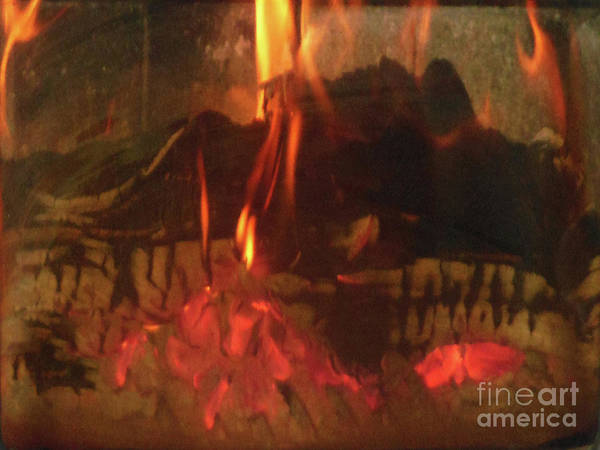Photograph - Burning Fire by Rockin Docks Deluxephotos