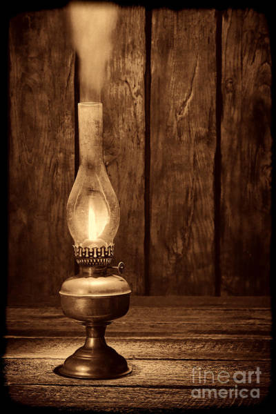 Photograph - Burning The Midnight Oil  by American West Legend By Olivier Le Queinec