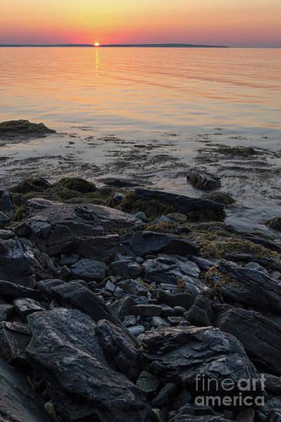 Photograph - Burnt Dawn, Camden, Maine  -54019-54020 by John Bald