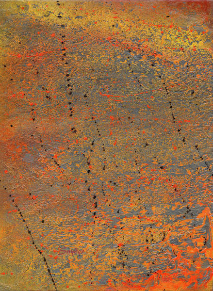 Photograph - Burnt Orange Abstract by Floyd Snyder