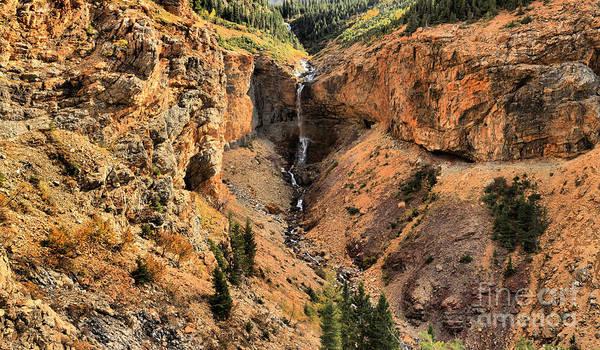 Photograph - Burnt Rock Falls by Adam Jewell