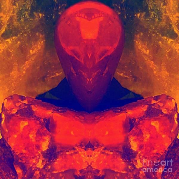 Digital Art - Burnum by Rachel Hannah