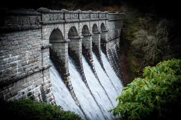 Burrator Reservoir Dam Art Print