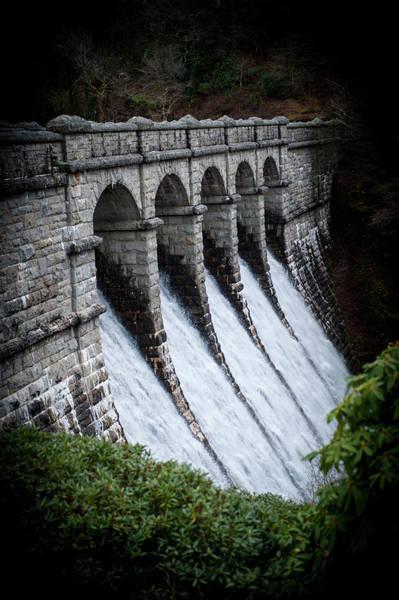 Photograph - Burrator Reservoir Dam II by Helen Northcott