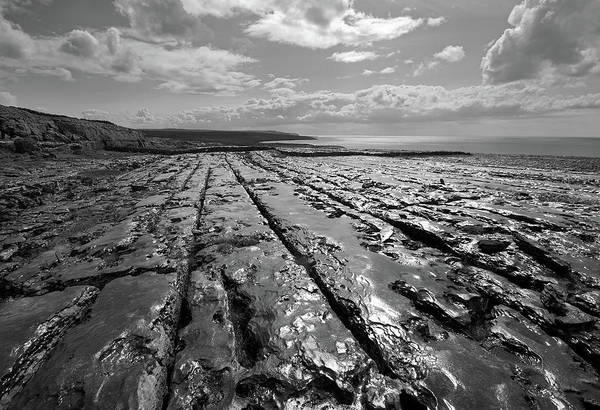 Photograph - Burren Limestone Landscape In Ireland by Pierre Leclerc Photography