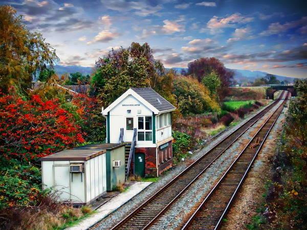 Photograph - Burscough Bridge Railway Station by Anthony Dezenzio