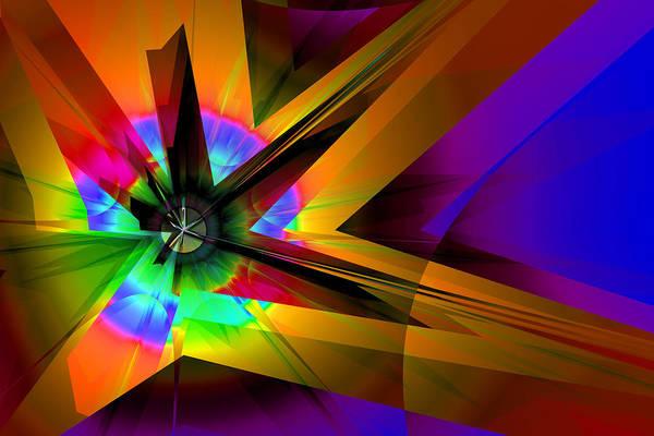 Digital Art - Burst by Frederic Durville