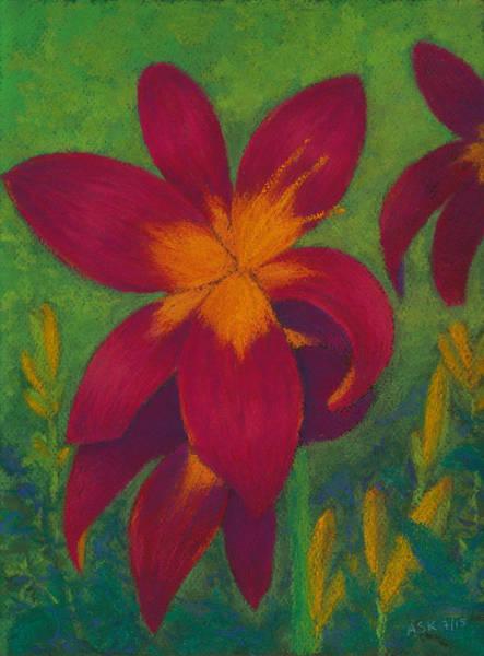 Pastel - Burst Of Joy by Anne Katzeff