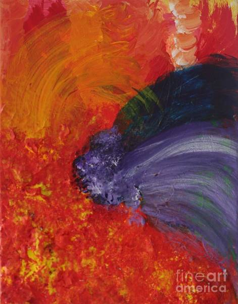 Painting - Burst Of Purple by Sarahleah Hankes