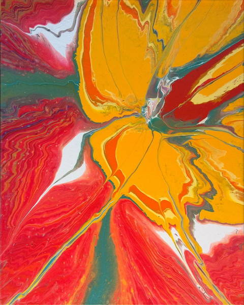 Painting - Burst Of Spring by Lon Chaffin
