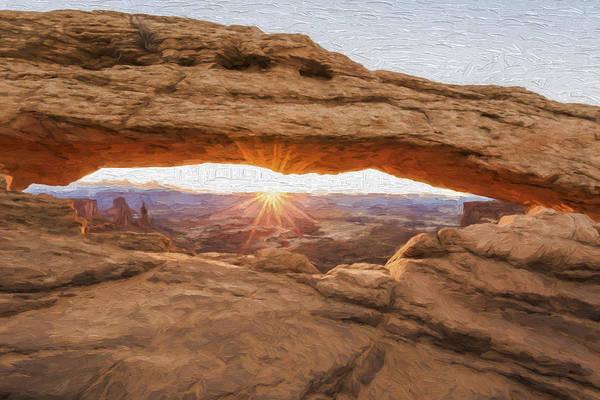 Digital Art - Burst Of Sunshine II by Jon Glaser