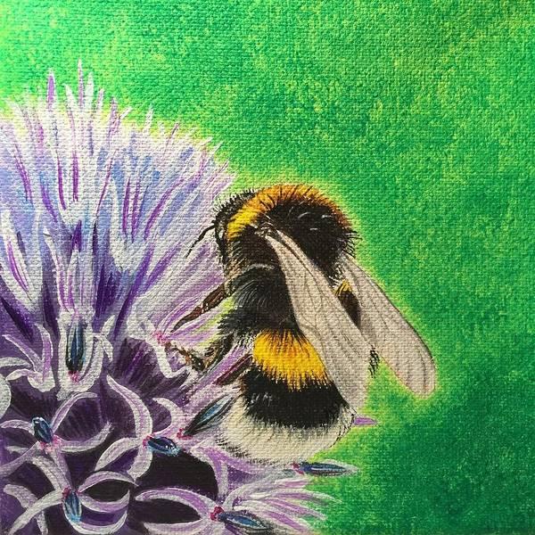 Painting - Bursting by Sonja Jones