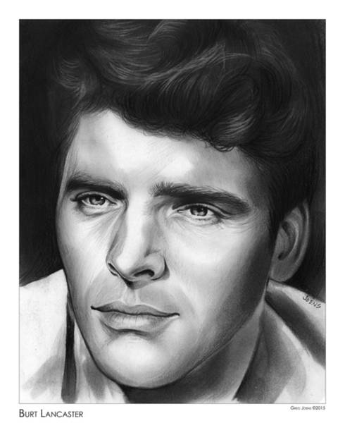Drawing - Burt Lancaster by Greg Joens