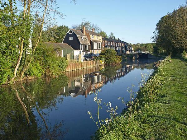 Photograph - Burtons Mill by Gill Billington
