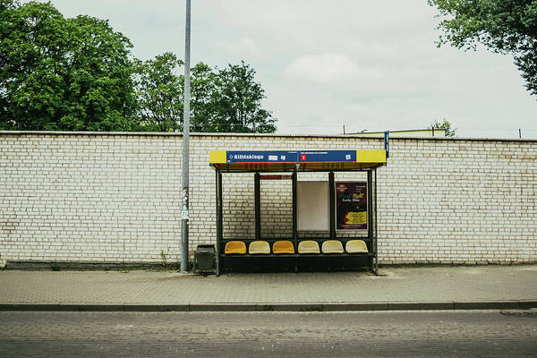 Wall Art - Photograph - Bus Stop In Poland by Pati Photography