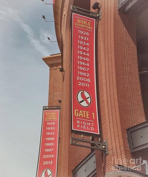 Wall Art - Photograph - Busch Stadium - Cardinals Baseball by Luther Fine Art
