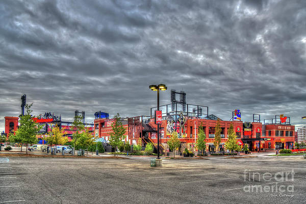 Photograph - Busch Stadium St Louis Missouri Baseball Art by Reid Callaway