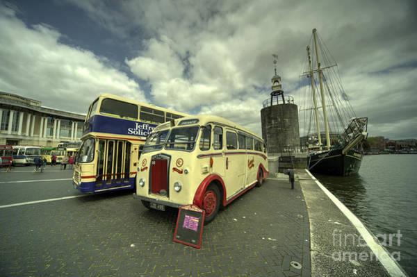 Wall Art - Photograph - Buses N Boat  by Rob Hawkins