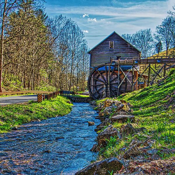 Photograph - Bush Mill by Dale R Carlson