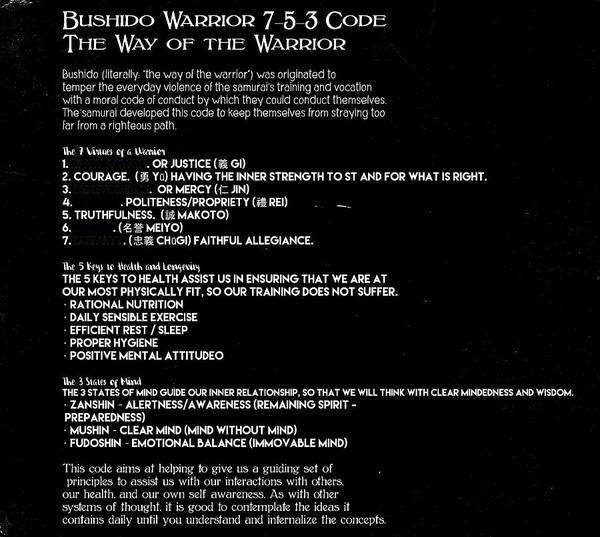 Bushido Painting - Bushido Warrior 7-5-3 Code 10f by Celestial Images